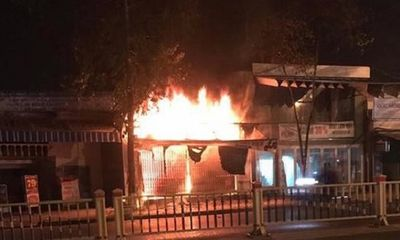 Hiện trường ngổn ngang vụ cháy cửa hàng xe điện ở Huế khiến 3 người tử vong