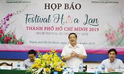 Festival Hoa Lan TP.HCM 2019 từ ngày 27/4 – 01/5/2019 có quy mô lớn nhất từ trước tới nay