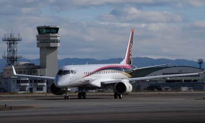 Máy bay Mitsubishi của Nhật Bản mới xuất xưởng