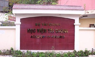 Học viện Tài chính buộc thôi học thí sinh ở Hòa Bình được nâng gần 7 điểm thi