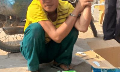 Đồng Tháp: Công an bắt nghi phạm dùng xe máy vận chuyển 15 kg ma túy