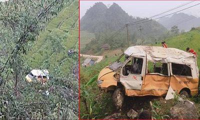 Tin tai nạn giao thông mới nhất ngày 1/5/2019: Ô tô lao xuống vực, 2 vợ chồng may mắn thoát chết