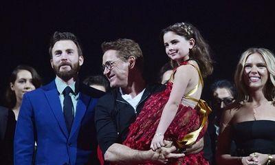 Vẻ xinh xắn, đáng yêu của con gái Iron Man trong