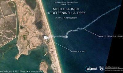 CNN công bố hình ảnh vụ phóng tên lửa tầm ngắn mới nhất của Triều Tiên