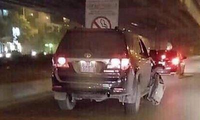 Bộ Công an lên tiếng vụ xe biển xanh 80A gây tai nạn rồi bỏ chạy ở Hà Nội