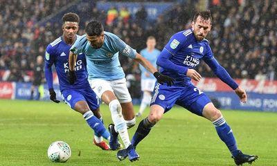 Thắng nhọc nhằn Leicester, Man City tiến sát ngôi vương Premier League