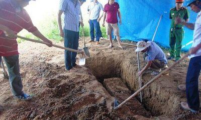 Khai quật tử thi, điều tra cái chết bất thường của nam thanh niên ở Tuyên Quang
