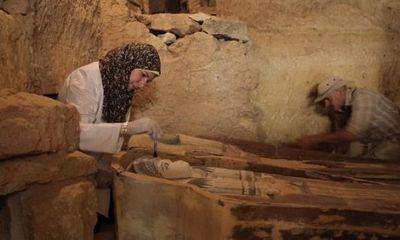 Phát hiện ngôi mộ cổ 4.500 năm tuổi ở Giza, Ai Cập