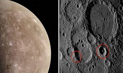 Lộ căn cứ của người ngoài hành tinh trên sao Thủy trong ảnh của NASA?
