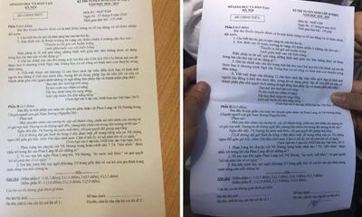 Phú Thọ: Xác minh tin đồn con cán bộ Sở GD&ĐT làm lộ đề thi Vật Lý lớp 10