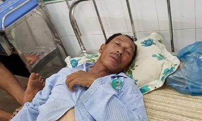 Bình Thuận: Bị tàu lạ đâm chìm tàu, hai cha con ngư dân may mắn được cứu thoát