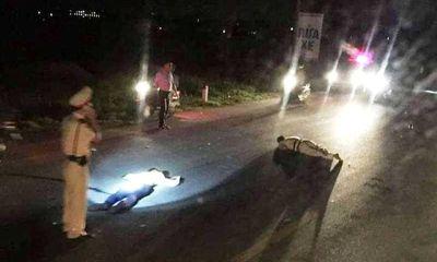 Trung tá CSGT bị thanh niên chạy xe máy tốc độ cao đâm trọng thương