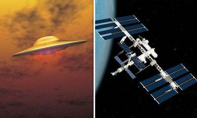 Thêm bằng chứng người ngoài hành tinh điều UFO theo dõi Trạm Vũ trụ Quốc tế