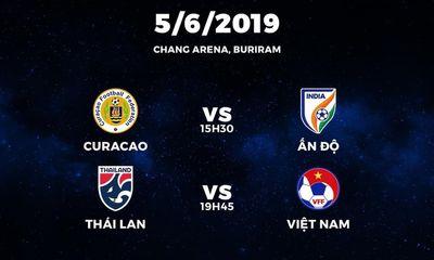 Danh sách tập trung ĐTQG Việt Nam tham dự King's Cup Thái Lan 2019: Tiến Dũng vắng mặt