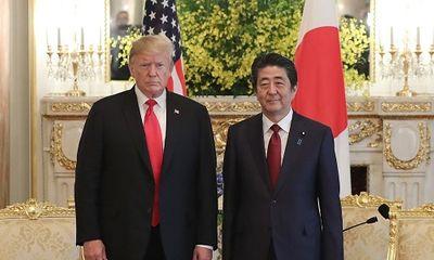 Ông Trump ủng hộ Nhật Bản đóng vai trò trung gian hoà giải trong căng thẳng Mỹ-Iran