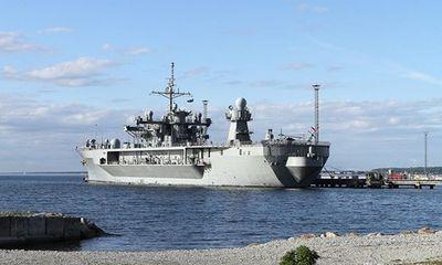 Tin tức quân sự mới nóng nhất hôm nay 31/5/2019: Tàu chỉ huy hải quân Mỹ tiến vào biển Baltic