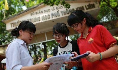 Hơn 85.000 thí sinh làm thủ tục dự thi vào lớp 10 ở Hà Nội