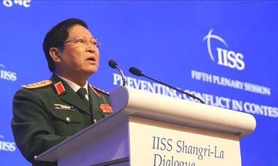 Bộ trưởng Ngô Xuân Lịch nêu quan điểm giải quyết tranh chấp trong hòa bình và đối thoại