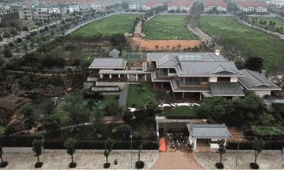 Cận cảnh dinh thự hoành tráng hơn 4.000m2 ở khu đô thị Dương Nội