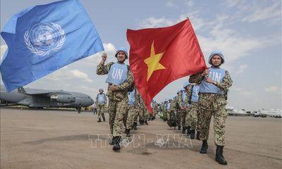 Việt Nam khẳng định uy tín trong hoạt động gìn giữ hòa bình Liên hợp quốc