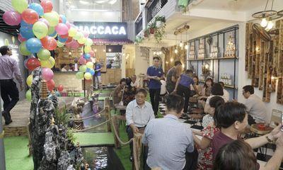Chuỗi Maccaca Coffee tưng bừng khai trương