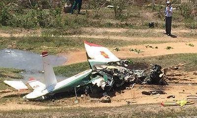Đề nghị thăng quân hàm cho 2 phi công gặp nạn ở Khánh Hòa