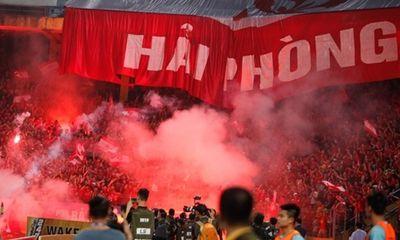 CLB Hải Phòng tiếp tục nộp phạt vì pháo sáng ở vòng 13 V-League 2019
