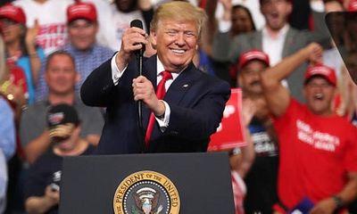 Chiến dịch tái tranh cử của ông Trump thu về 24,8 triệu USD tiền ủng hộ trong một ngày