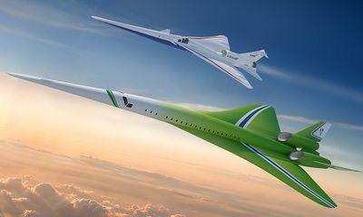 Tập đoàn vũ khí hàng đầu của Mỹ tiết lộ kế hoạch sản xuất máy bay chở khách siêu thanh