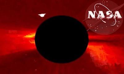 Kính viễn vọng của NASA chụp được ảnh UFO lớn nhất bay ra từ phía Mặt trời?