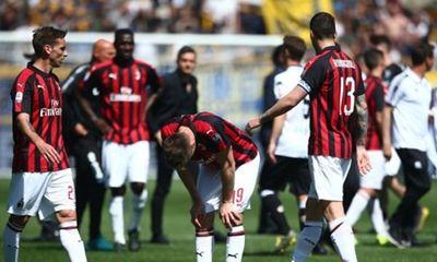 AC Milan chính thức bị cấm dự cúp châu Âu, mất suất Europa League