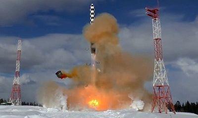 Nga lần đầu tiết lộ những thông số kỹ thuật 'khủng' của siêu tên lửa Sarmat