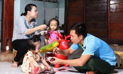 Hạnh phúc đến muộn của gia đình quân nhân bảo vệ biên giới