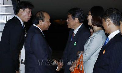 Thủ tướng Nguyễn Xuân Phúc đến Tokyo, bắt đầu chuyến thăm Nhật Bản