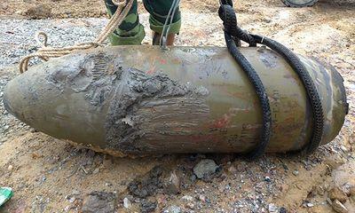 Nghệ An: Phát hiện quả bom