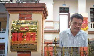 Vụ gian lận thi cử ở Hà Giang: Nữ cán bộ công an đã