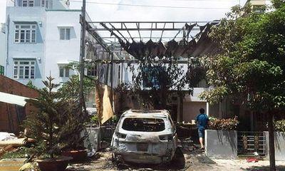 Nghi vấn 2 nam thanh niên ném bom xăng vào quán cà phê tại Đồng Nai