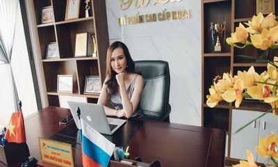 Lương Hoài Thương- CEO Thương Hiệu Mỹ Phẩm Roza-Một trong số ít doanh nhân trẻ sở hữu doanh nghiệp riêng sau khi tốt nghiệp đại học