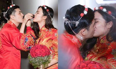 Đông Nhi - Ông Cao Thắng diện đồ cô dâu chú rể, làm