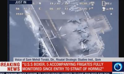 Mỹ tuyên bố bắn rơi máy bay không người lái, Iran tung video tố