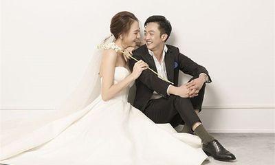 Cường Đô la - Đàm Thu Trang tung trọn bộ ảnh cưới đẹp lung linh trước ngày trọng đại