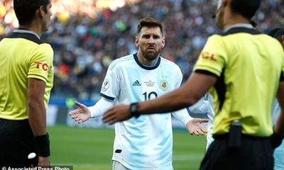 Tin tức thể thao mới - nóng nhất hôm nay 24/7/2019: Messi chính thức bị phạt vì