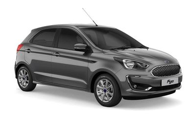 Cận cảnh mẫu ô tô Ford