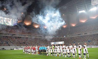 Ronaldo ngồi dự bị, Juventus suýt thua trên đất Hàn Quốc