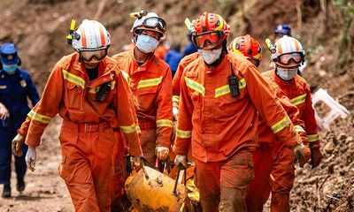 Sạt lở đất nghiêm trọng tại Trung Quốc: Số người thiệt mạng tăng tới 29 người