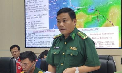 Mất liên lạc với 14 tàu cá Quảng Bình vào Trung Quốc tránh bão số 3