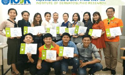 Khóa đào tạo tham vấn viên đầu tiên của viện nghiên cứu sinh trắc vân tay IODR