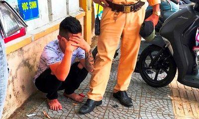 Đà Nẵng: Thượng úy CSGT bị đôi nam nữ phóng xe máy bỏ chạy tông chấn thương