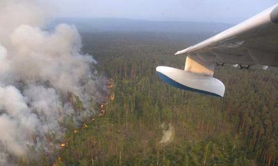 Choáng với dàn máy bay quân sự dùng để chữa cháy rừng của Nga