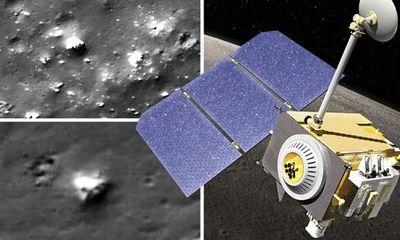 Thêm bằng chứng Tàu Vũ trụ Trinh sát Mặt trăng của NASA phát hiện UFO ngoài hành tinh